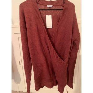 Tobi pink sweater dress